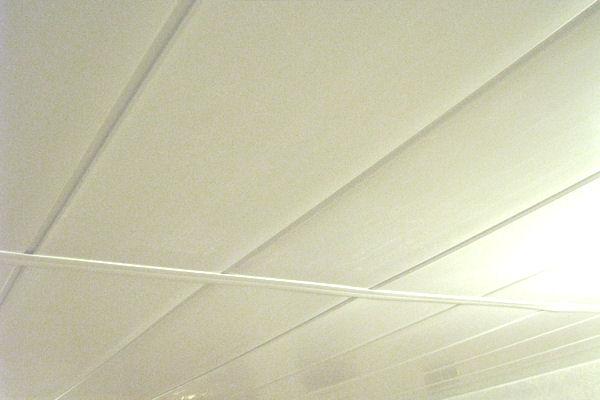 Rénovation plafond Mobil Home